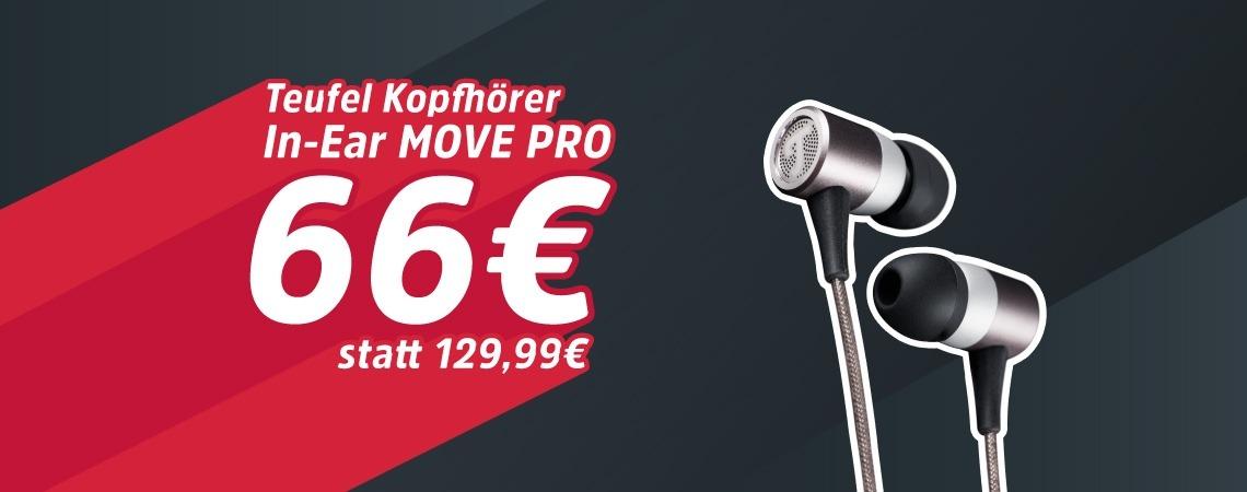 -50% auf MOVE PRO Kopfhörer