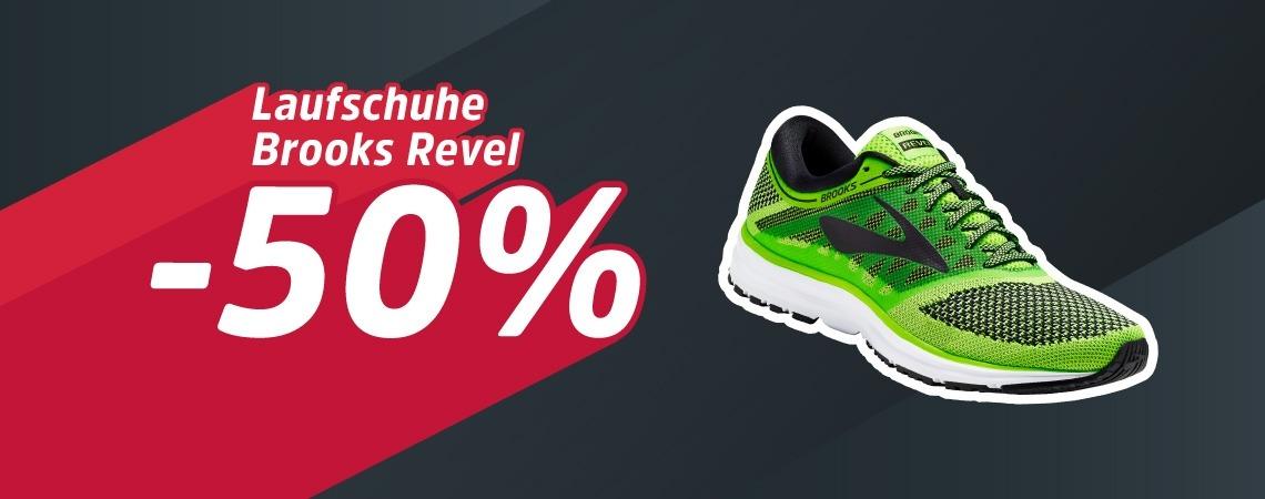 -50% auf den Laufschuh Revel