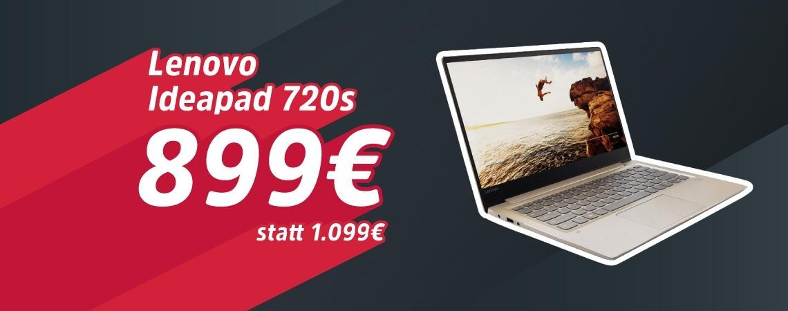 -20% auf Lenovo Ideapad 720S