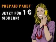 Gutschein für congstar Prepaid Starterpaket für nur 1€