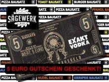 5€ Gutschein auf alles beim Sägewerk Wien