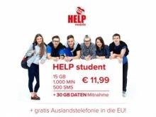 Exklusiver und sozialer Handyvertrag für Studenten bei HELP mobile