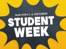 1 von 500 Pre Sale Tickets für die Student Week sichern