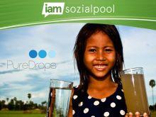 Spende Wasser, rette Leben!
