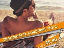 25% Gutschein auf Kurzurlaube und Erlebnisse auf urlaubsbox.com