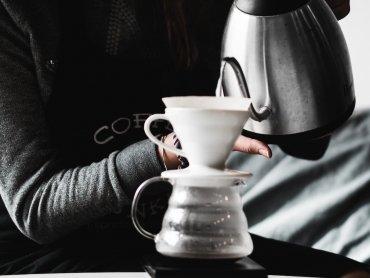 Kaffeegenuss samt Croissant!