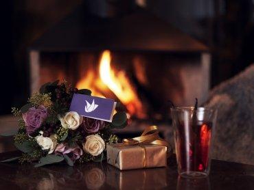 Zu Weihnachten Blumen schenken