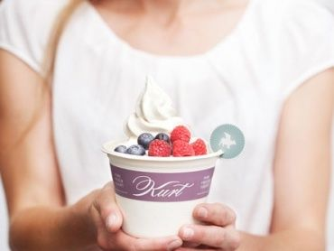 Pure. Frozen. Yogurt.