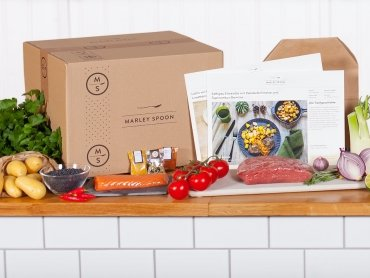 Spare 20€ auf die vielfältigen Kochboxen von Marley Spoon!