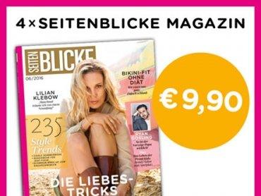 Das Seitenblicke-Magazin mit neuem Look & Feel!