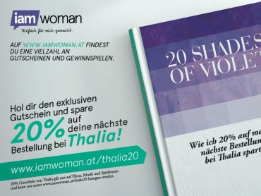 20 Shades of Violet! 20% bei Thalia!