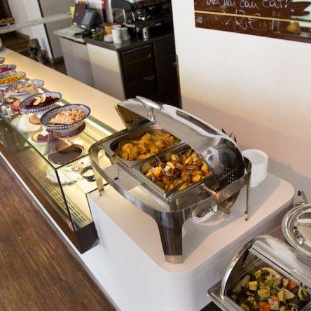 Orientalische Mittagspause!