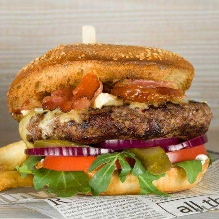 Bio-Burger im Doppelpack!