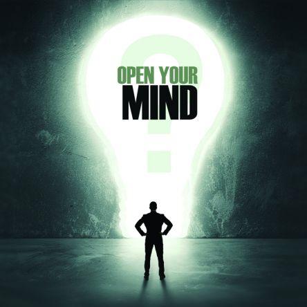 Open Your Mind! Open The Door!