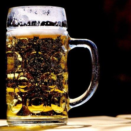Bier. Musik. Polkadot.