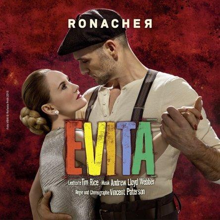 EVITA! Das Musical im Ronacher.