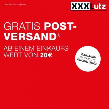 XXXLutz verschickt's gratis!