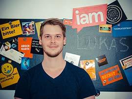 Lukas Simbrunner von iamstudent.at